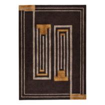 Hnedý ručne tkaný koberec Flair Rugs Moderne Lifestyle, 120 × 1...