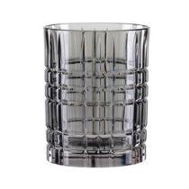 Sivý pohár na whisky z krištáľového skla Nac...
