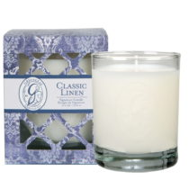 Sviečka s vôňou ľanu Greenleaf Signature Classic Linen, doba ...
