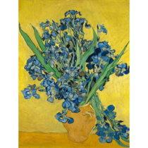 Reprodukcia obrazu Vincenta van Gogha - Irises, 60×45cm