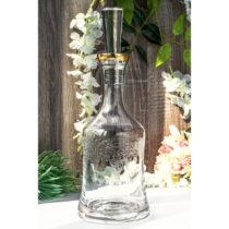 Sklenená fľaša s uzáverom Cassianos
