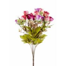Kytica umelých ružových ruží The Mia