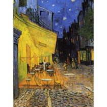 Reprodukcia obrazu Vincenta van Gogha - Cafe Terrace, 40×30cm