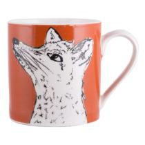 Oranžový porcelánový hrnček Creative Tops Wild Fox, 3...