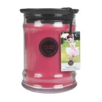 Sviečka s vôňou v sklenenej dóze s vôňou li...