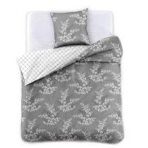 Sivé obliečky na jednolôžko z mikrovlákna DecoKing Hy...