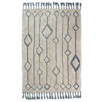 Béžovo-modrý ručne tkaný koberec Flair Rugs Solitaire...