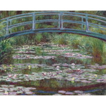 Reprodukcia obrazu Claude Monet - The Japanese Footbridge, 50×40&#x...