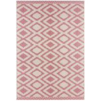 Ružovo-sivý koberec vhodný aj do exteriéru Kalora, 140 &#xD...