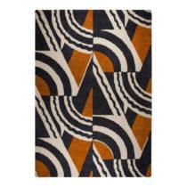 Hnedo-oranžový ručne tkaný koberec Flair Rugs Rythm Lifestyle,...