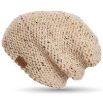 Ručne háčkovaná čiapka DOKE Tweed