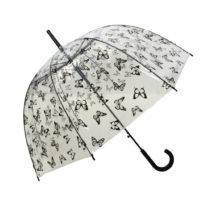 Transparentný dáždnik Ambiance Birdcage Butterflies, ⌀&#x...