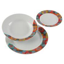 18-dielna sada porcelánových tanierov Versa Topkapi