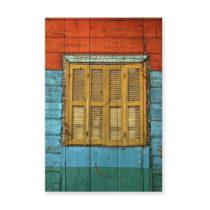 Nástenná ceduľa z borovicového dreva Really Nice Things Colorfu...