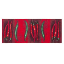 Vysokoodolný kuchynský koberec Floorita Peperoncini, 60×&#x...