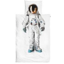 Bavlnené obliečky na jednolôžko Snurk Astronaut, 140...
