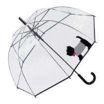 Transparentný dáždnik s rukoväťou Ambiance Cute Dog, ...