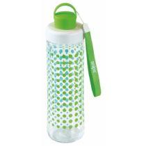 Zelená fľaša na vodu Snips Decorated, 750 ml