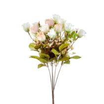 Kytica umelých bielych ruží The Mia