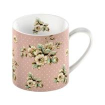Ružový porcelánový hrnček Creative Tops Cottage Flowe...