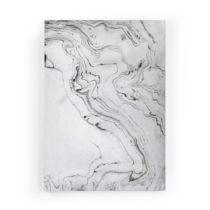 Obraz zo zamatového plátna Velvet Atelier Marble, 50×...