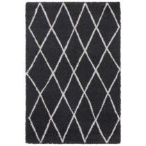 Antracitový koberec Elle Decor Passion Abbeville, 160×230 cm