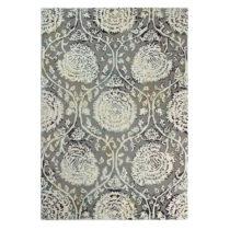 Sivý ručne tkaný koberec Flair Rugs Soho Vega, 200 × 290 cm