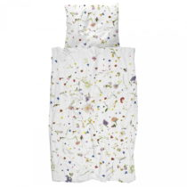 Bavlnené obliečky na jednolôžko Snurk Flower Fields, 140&#...