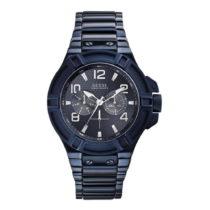 Pánske hodinky s antikoro remienkom v modrej farbe Guess W0218G4