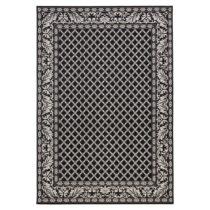 Čierny koberec vhodný aj do exteriéru Royal, 160 × 230 cm