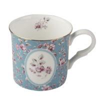 Modrý porcelánový hrnček Creative Tops Ditsy,230&...