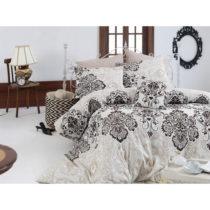 Obliečky z ranforce bavlny na jednolôžko Luxury Brown, 140 x 200 cm