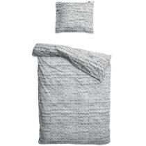 Sivé bavlnené obliečky na jednolôžko Snurk Twirre, 14...
