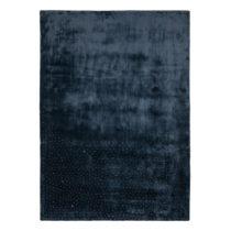 Tmavomodrý ručne tkaný koberec Flair Rugs Swarowski, 160 × 230 ...