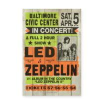 Drevená ceduľa Really Nice Things Led Zeppeling, 60×...
