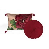 Sada 2 dekoratívnych vankúšov Velvet Atelier Geisha, 45&#x...
