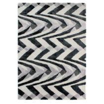 Čierno-sivý ručne tkaný koberec Flair Rugs Jazz, 160 &#xD7...
