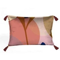 Farebná dekoratívna obliečka na vankúš Velvet Atelier...