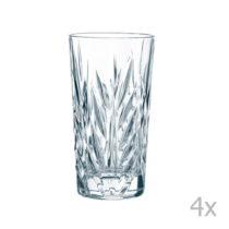 Sada 4 pohárov z krištáľového skla Nachtmann Imperial...