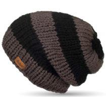 Ručne pletená čapica DOKE Stripes Beanie