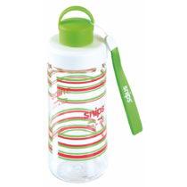 Zelená fľaša na vodu Snips Decorated, 500 ml