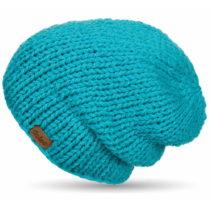 Ručne pletená čapica DOKE Blue Beanie