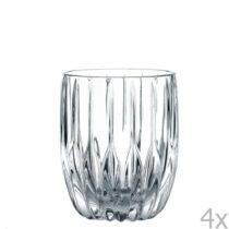 Sada 4 pohárov na whisky z krištáľového skla Nachtman...