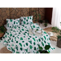 Set bavlneného plédu cez posteľ, plachta a 2 obliečky na vank&...