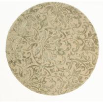 Sivý ručne tkaný koberec Flair Rugs Dorchester, ø 150 cm
