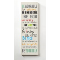 Obraz Really Nice Things Be Adorable, 30 × 90 cm