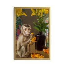 Obraz v rámu Velvet Atelier Mico, 60×40 cm