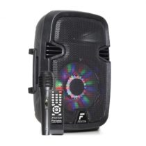 "Fenton FT8LED, aktívny reproduktor, 8"", 300 W, BT/USB/SD/AUX, LED, 2,2 Ah akumulátor"