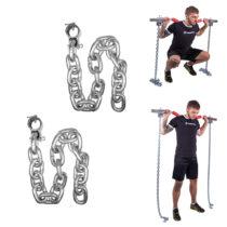 Vzpieračské reťaze inSPORTline Chainbos 2x30 kg