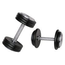 Jednoručná činka inSPORTline ProfiST 25 kg